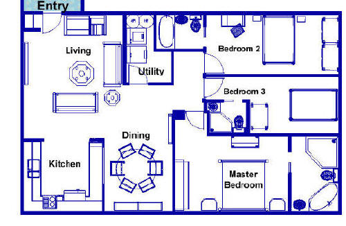 Floor Plans 1 000 Sq Ft Vacation Residence Floor Plan