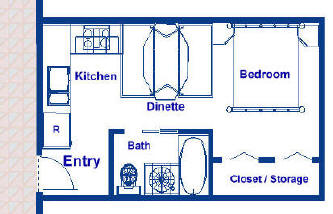 250 Sq Ft Fractional Vacation Ownership Residence Floor