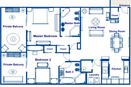 Residential ocean liner family vacation homes 250 to for 1500 sq ft apartment floor plan